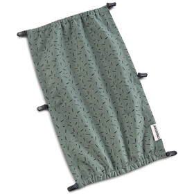 Croozer Suncover voor Kid Vaaya 1, jungle green/black